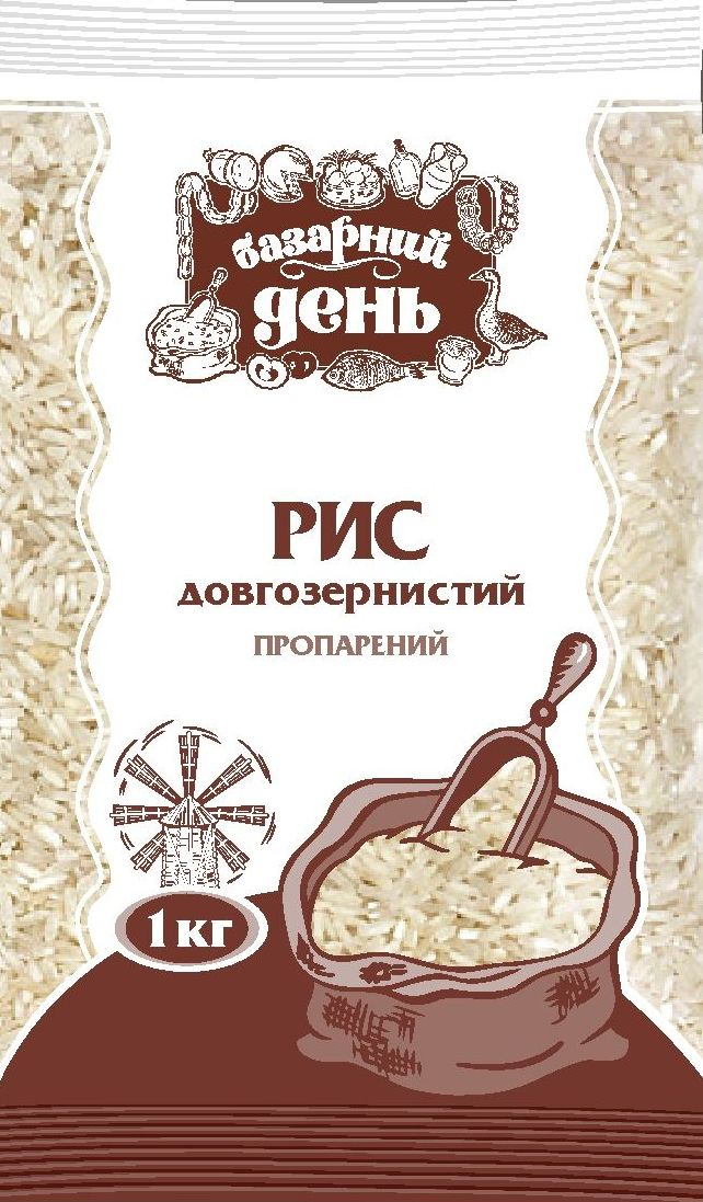 "Long grain rice of ""Bazarniy Den"" TM"